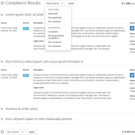 Compliance Search Tool